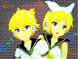 【描いてみた】鏡音レン、リン【Pixia】