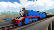 大きな力持ちの機関車