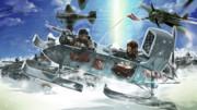 雪原の進軍