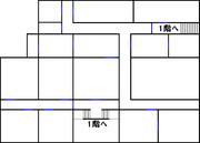 ルイージマンション 地図 2階
