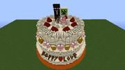 【Minecraft】ウエディングケーキ【飯テロ部】