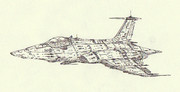 空間艦上攻撃機リュウセイ「自作機」