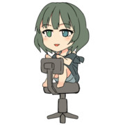 GIFアニメ 楓さん