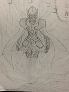 ラフ画、黒騎士