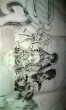 ローゼンメイデンを描いた!