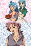 【杏さや+娘】「一人で食べちゃダメだよ、お父さん」【父の日】