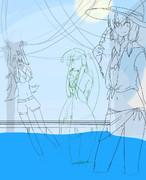 【モチベ】水着3人【なくなった】