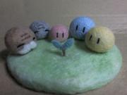 【ニコ生】だんご大家族【羊毛フェルト】
