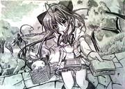 ましろ色シンフォニーの「乾紗凪」描いてみた
