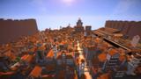 【Minecraft】シガンシナ区再現プロジェクト 6.18時点の全景描写