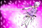 ゆかりん+刀+桜