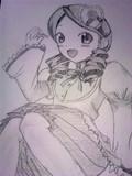 金糸雀を描きました(._.)φ
