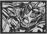 [切り絵]進撃の巨人