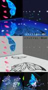 【MMDステージ】蝶モチーフステージ