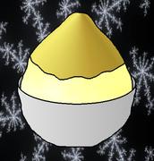 ゴールドかき氷