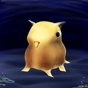 【深海魚】ジュウモンジダコ
