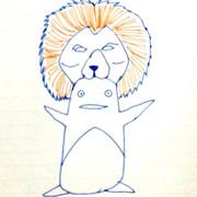 ライオンキングバージョンのアフロペンギン