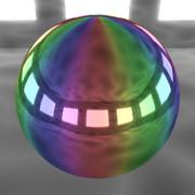 メタリックレインボール