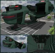 【MMD】新輸送機モデル配布