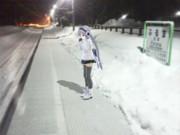 とある雪国の駅にて・・・①【雪歌ユフ】