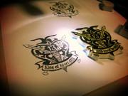 【消しゴムはんこ】キングオブハートの紋章