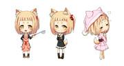 Androidウィジェット用SDキャラクター