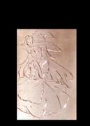 魔理沙→眩しすぎるゾ☆【勝手に彫らせていただきましたm(__)m】