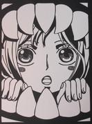 【切り絵】しらほし姫【ONE PIECE】