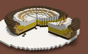 【Minecraft】クリームののったプリンタルト