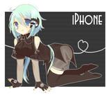 iphone4S擬人化