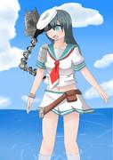 球磨型5番艦軽巡洋艦「木曾」