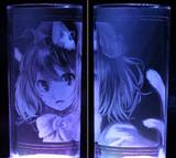 【ガラス彫り】橙【グラスリッツェン】その2