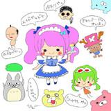 2013.7.1生放送で描いたもの★part2