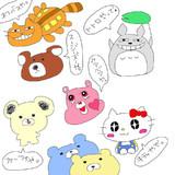 2013.7.1生放送で描いたもの★part3