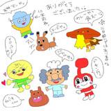 2013.7.1生放送で描いたもの★part4