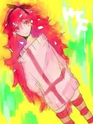 赤いトゲトゲ