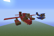 【Minecraft】ポルコ・ロッソの飛行艇