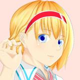 アリスの右耳もかわいい