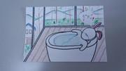 お風呂でエステ・ウサギ