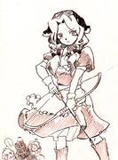 【落書き】クロノアーチャー