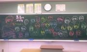 黒板に描いてみた【黒子のバスケ】