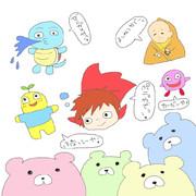 2013.7.3生放送で描いたもの★part1