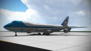 【MMD】B747-2G4B/VC-25