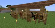 【Minecraft】厩舎ぽくつくってみた