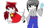 【NARUTO×東方】サスケと霊夢