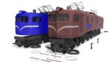 記憶の中の美しい機関車。