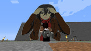 Minecraftでミカサ・アッカーマンを作ってみた