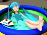 暑い時にはプールでまったり(*´ω`*)