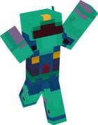 【Minecraft】MSA-003 ネモ全体図【機動戦士Zガンダム】