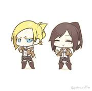 アニさんと芋女。
